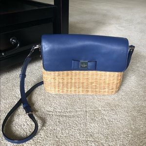 cc82d6921265 Women Kate Spade Wicker Handbag on Poshmark